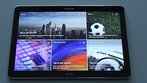 Preview of Samsung's Magazine UX on the Galaxy NotePRO 12.2