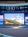 Samsung Expands TV Line-Up at CES with World's Largest Curved UHD TV