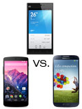Specs Compared: Xiaomi Mi 3 vs LG Nexus 5 vs Samsung Galaxy S4 with LTE+