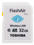 Toshiba Launch FlashAir Wireless SD Card, Exceria SD Cards & Q-series SSD Online