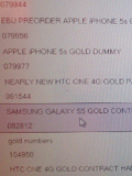 Does this Vodafone Leak Confirm a Gold Samsung Galaxy S5?