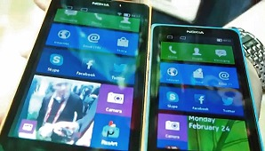 First Looks: Nokia X and XL Android-based Smartphones