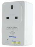 Prolink PWN3702P 300Mbps AC Pass-Through Wireless-N Extender