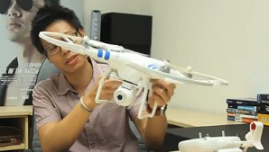 DJI Phantom 2 Vision Quadcopter  - Your Personal Eye in the Sky