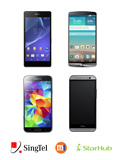 HTC One (M8), LG G3, Samsung Galaxy S5 and Sony Xperia Z2 Price Plans Comparison