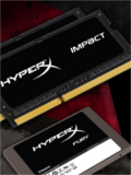HyperX Releases Impact SO-DIMMs & Fury SSDs