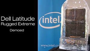 Dell Latitude Rugged Extreme Notebook Demoed!