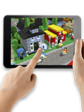 Lego Fusion Lets You Build Virtual Towns with Real Lego Bricks