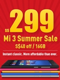Xiaomi Holding Summer Sale for Mi 3, Price Slashed to $299
