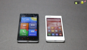 Hands-on: Xiaomi Redmi 1S and Redmi Note