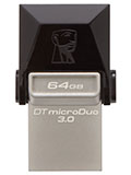Kingston Outs New USB OTG Flash Drive and microSDHC/SDXC Card