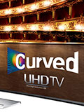 Samsung HU9000 vs. HU8500 - High-end curved and flatscreen UHD TVs face off!