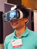 Samsung unveils Gear VR, a wearable optimized for Galaxy Note 4 to explore virtual reality