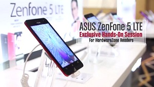 ASUS ZenFone 5 LTE trialed at an exclusive session for HWZ members