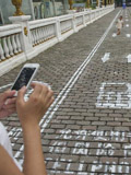 City in China introduces 'cellphone lane' for pedestrians glued to their smartphones