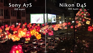 Low-light shootout: Nikon D4S vs. Sony A7S