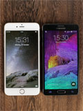 Samsung's new Note 4 beaten by new iPhones on home soil