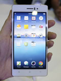 At 4.85mm, Oppo's R5 is by far the world's thinnest smartphone