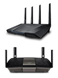 AC-2400 Wireless Router Face-off: ASUS AC-RT87U vs. Linksys E8350