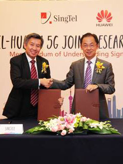 SingTel and Huawei to launch 5G Joint Innovation Program