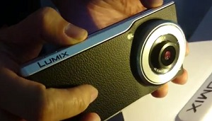 Panasonic Lumix CM1 Android camera phone walkthrough