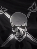The Pirate Bay domain comes back with a waving pirate flag