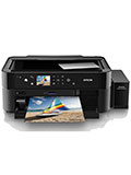 The Epson L850 is a multi-function photo printer with six external ink tanks