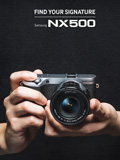 Samsung announces launch of the NX500, a professional camera for everyday use