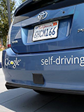 Is Google planning to use its driverless cars to compete with Uber?