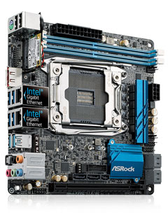 ASRock releases world's first mini-ITX X99 motherboard