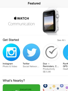 Apple: We have over 3,500 apps available for the Apple Watch