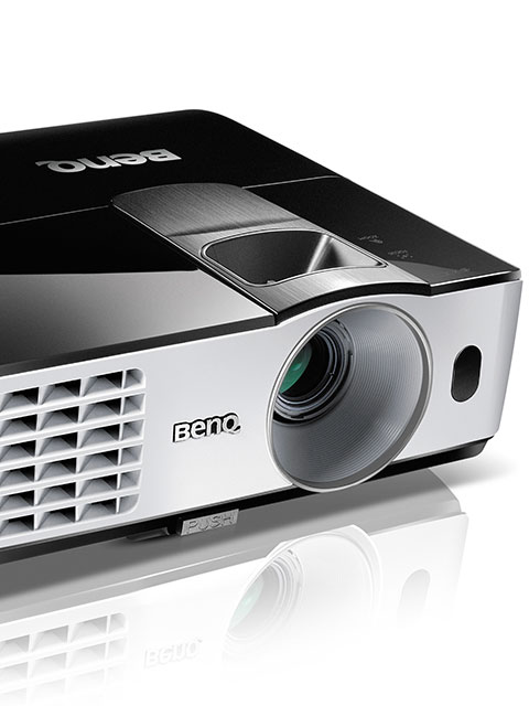 BenQ's MW665+ and MX666+ projectors use NFC to reduce wireless presentation setup headaches