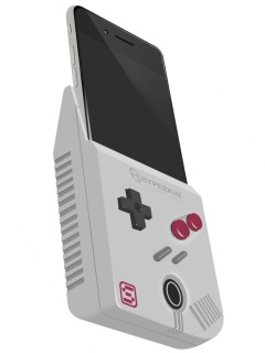 Hyperkin Will Turn Your IPhone Into A Game Boy With Smart Boy - Hyperkin smartphone gameboy