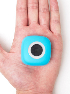 The Podo camera lets you stick it to nearly any surface