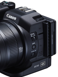 Canon launches new 4K camcorder, the XC10