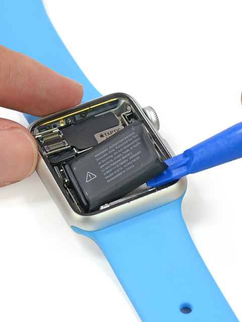 Watch the Apple Watch get taken apart