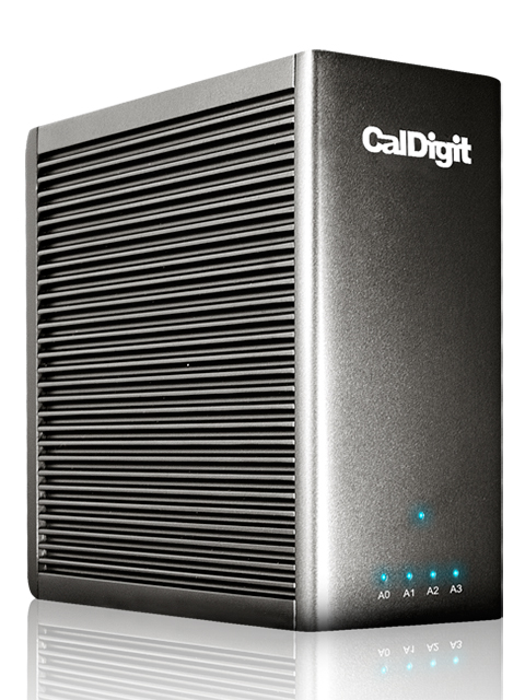 Caldigit releases Tuff external portable hard disk drive with USB-C and T4 Nano PCIe SSD RAID drive