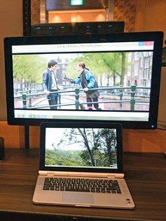 Unwiring the workplace: Intel Pro WiDi and Wireless Docking