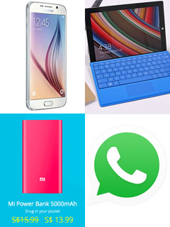 Weekly Roundup: Galaxy S6, free Whatsapp voice calls, Xiaomi, Surface 3 and more