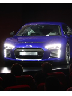 CES Asia: Audi's booth and  going out on to the floor