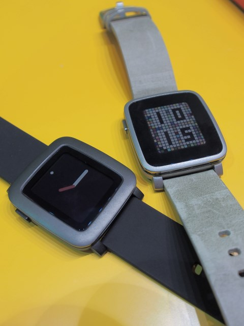 CES Asia 2015: Pebble Time and Time Steel hands-on