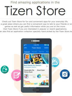 Samsung unveils Tizen Store, available in 182 countries with 25 apps at launch