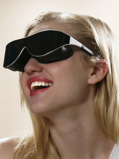 Dlodlo's VR Glasses look like something we'd wear in public