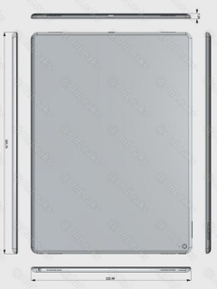 Dimensions of apple ipad pro leaked expect to see a 129 inch dimensions of apple ipad pro leaked expect to see a 129 inch display hardwarezone malvernweather Images