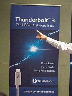 The new Thunderbolt 3 will be the USB-C that does it all