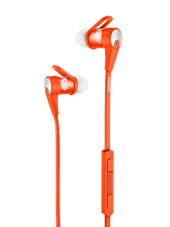 Philips SHQ7300OR Bluetooth Sports Earphones
