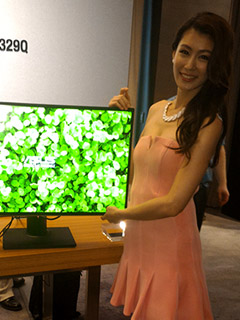 ASUS showcases its latest monitor lineup at Computex 2015