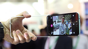 The ASUS ZenFone Selfie's special selfie features