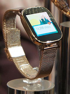 ASUS debuts ZenWatch 2 at Computex 2015 (Updated with video!)