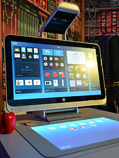 HP PPS Innovation Day: HP showcases blended reality Sprout PC & notebook and printer innovations